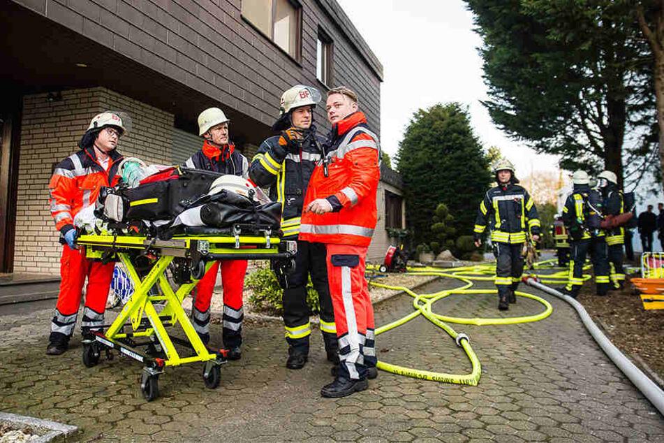 Die Rettungskräfte konnten die Familie vor Schlimmeren bewahren.