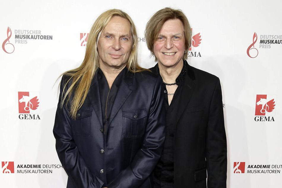 """Ritchie Barton (65) und Uwe Hassbecker (58) von der Band """"Silly"""""""