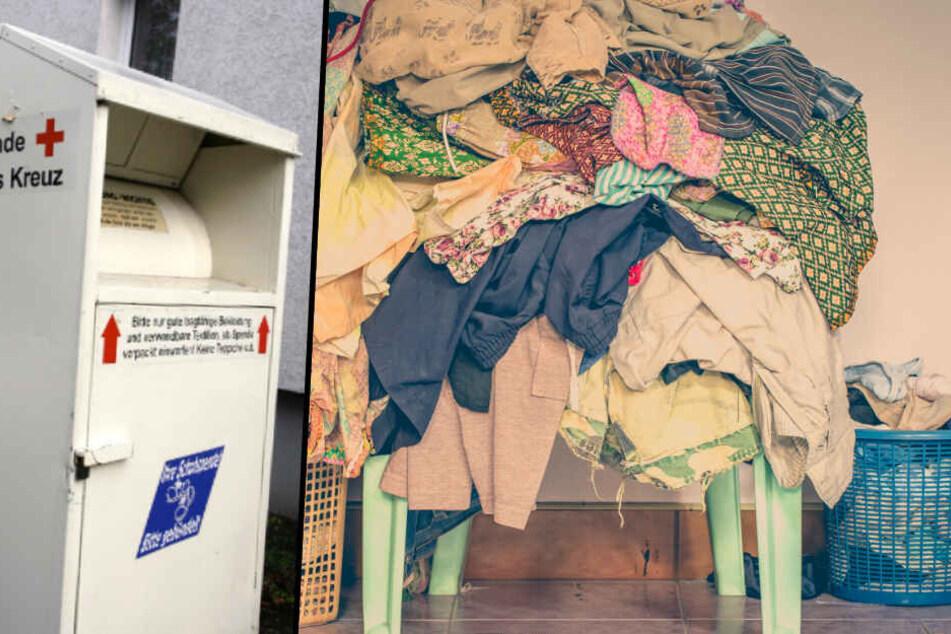 Mehr als zehn Tonnen Kleiderspenden bekommt die Berliner Stadtmission jede Woche. (Symbolbild)