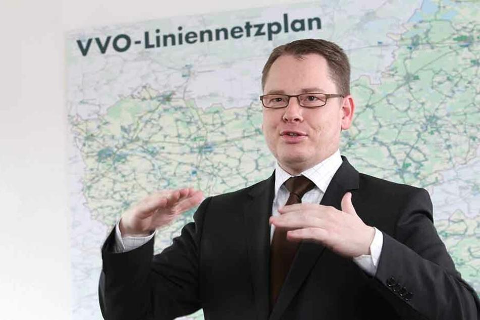 VVO-Boss Burkhard Ehlen.