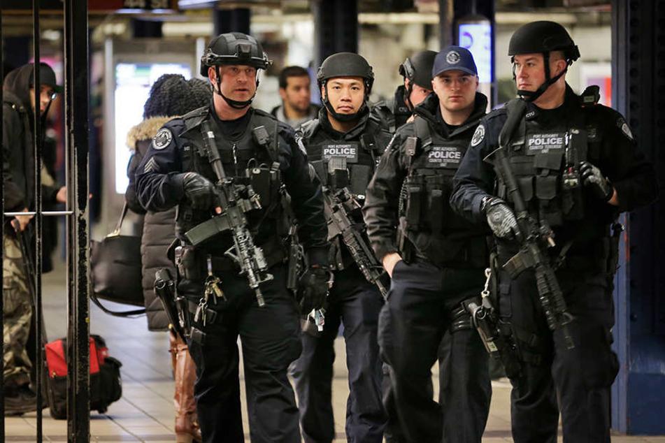Bei Polizeieinsätzen in den USA wurden 2017 insgesamt 987 Menschen getötet wurden.