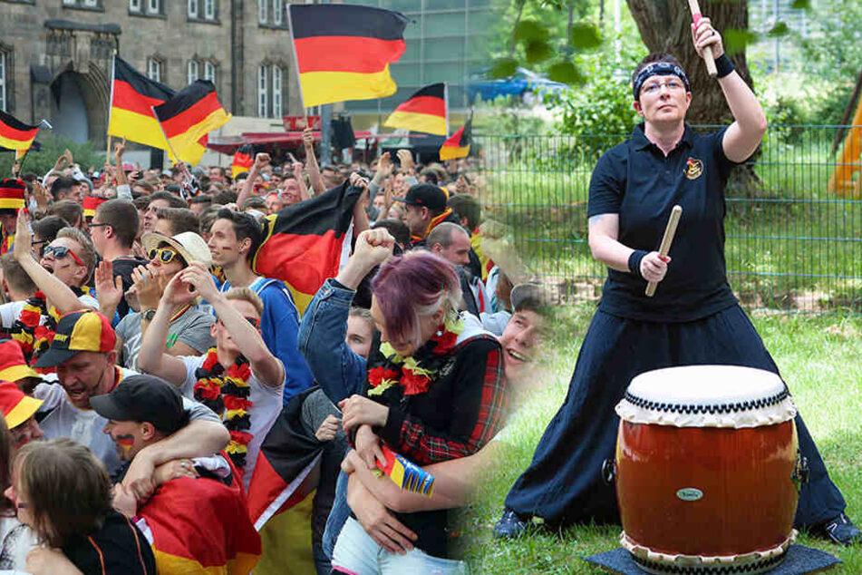 Am Sonntag spielt die deutsche Elf, aber nicht alle sind im WM-Fieber