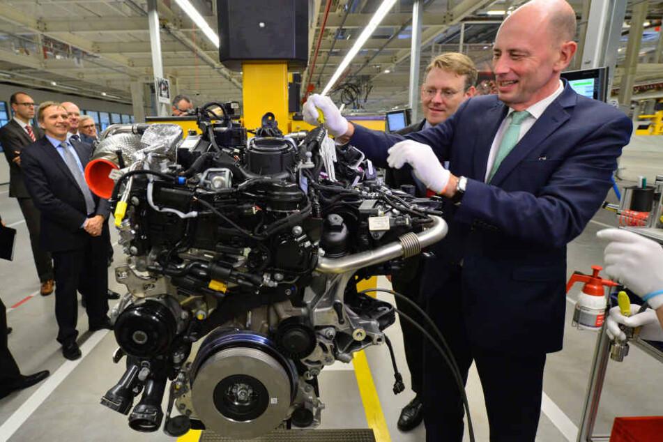 Wirtschaftsminister Wolfgang Tiefensee (SPD) ermuntert die Industrie zu Investitonen.