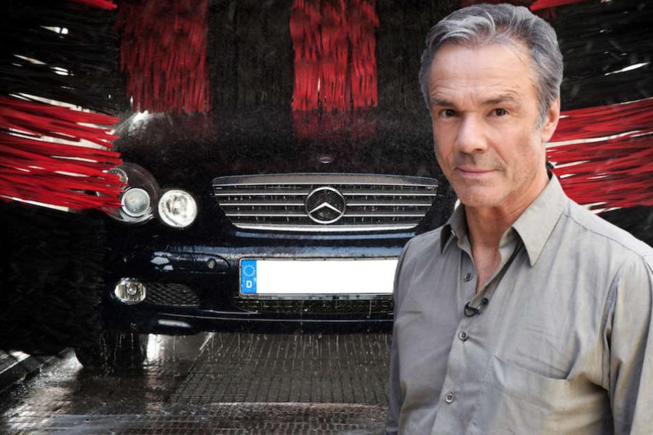 """Schauspieler Hannes Jaenicke (58) prangert den """"Auto-Fetisch"""" der Deutschen an. (Bildmontage)"""