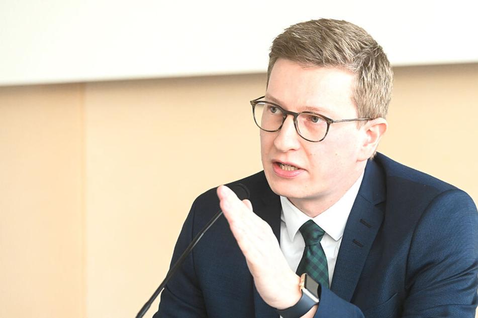 Kommissions-Chef Oliver Wehner (34, CDU).