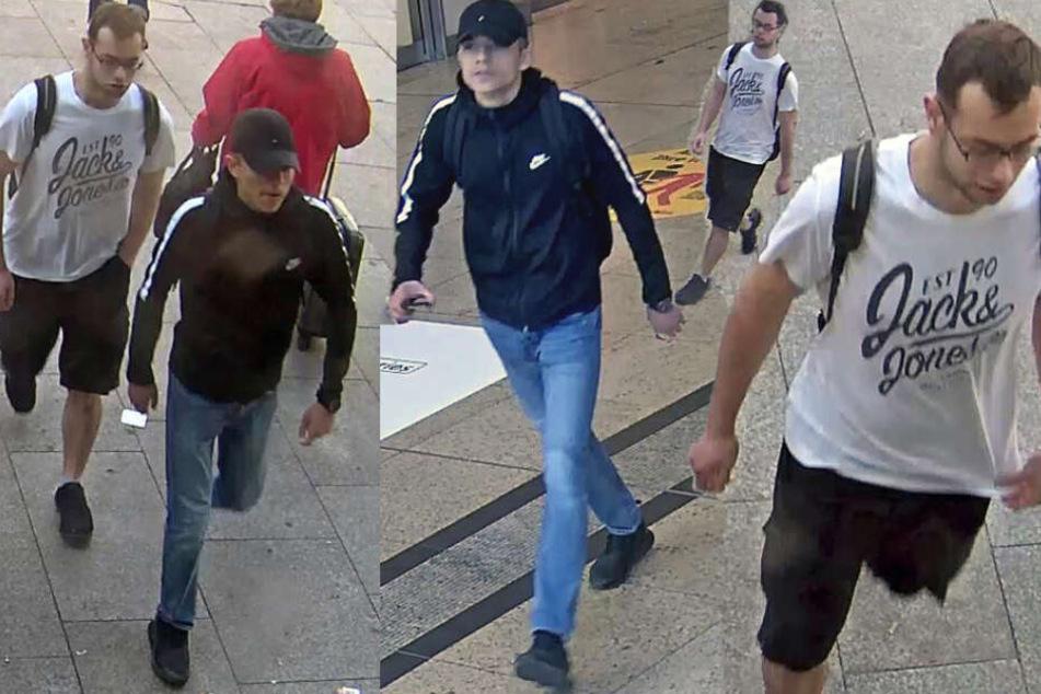 Reisetasche am Kölner Hauptbahnhof geklaut: Zwei junge Brutalos gesucht