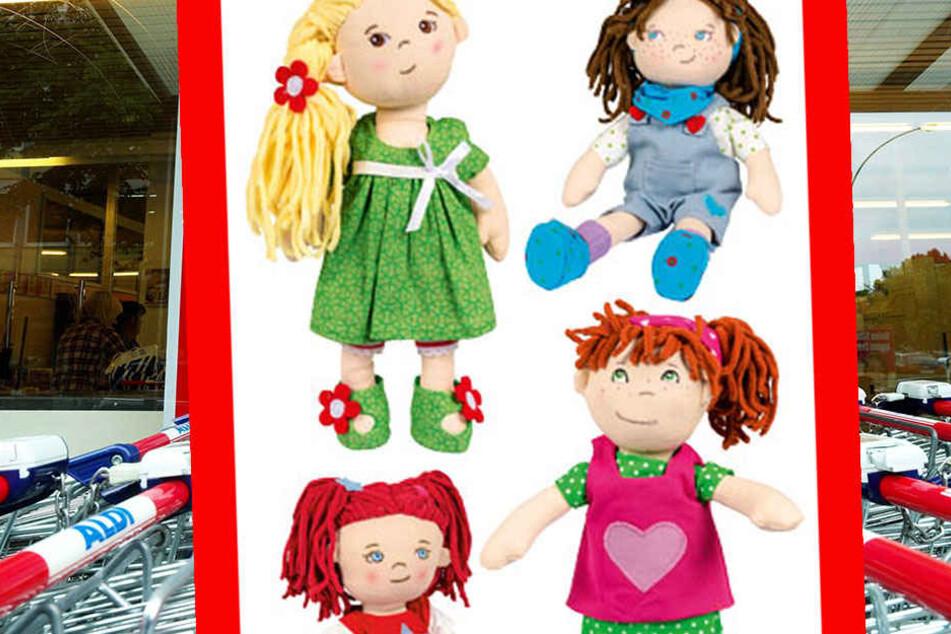 Diese Puppen sind nicht sicher! Vorsorglich ruft der Discounter das Spielzeug zurück.