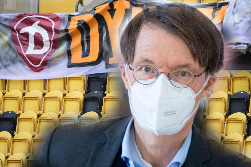 Fußball mit Publikum in Sachsen? Gesundheitsexperte Karl Lauterbach warnt!