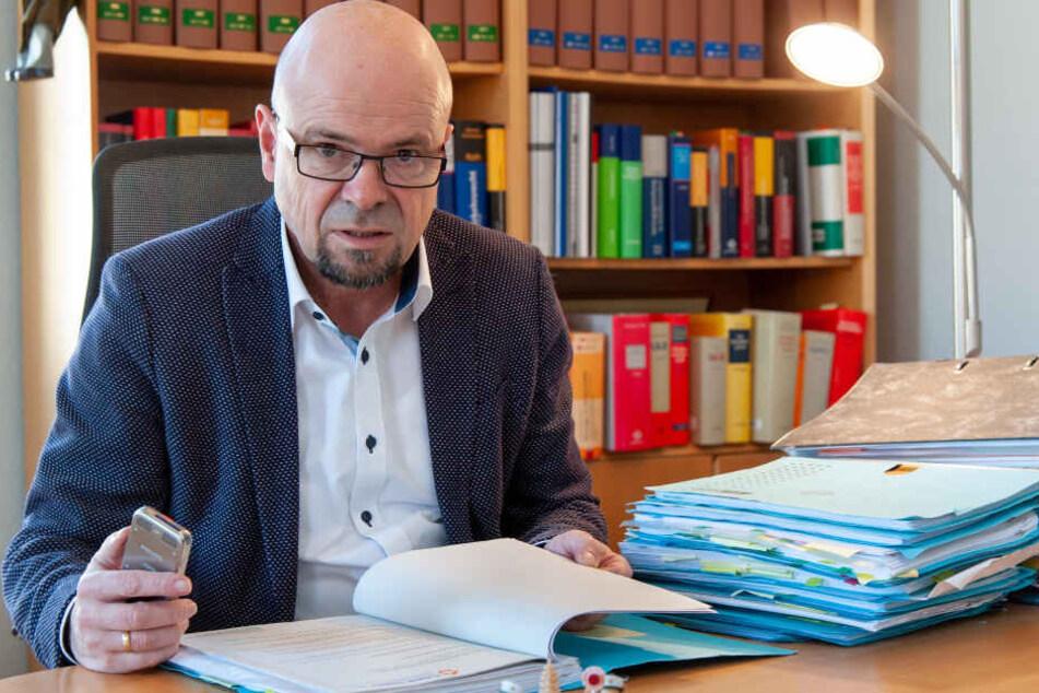 Verkehrsanwalt Franz Thomas Pfeifer (58)