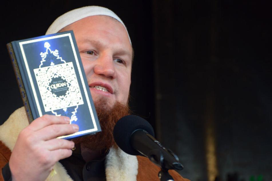 Der Prediger Pierre Vogel gilt als bekanntestes Mitglied der deutschen Salafisten-Szene. (Archivbild)