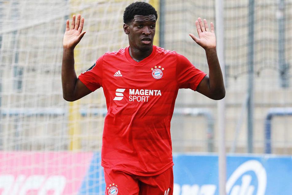 Kwasi Okyere Wriedt könnte von den kleinen Bayern zu Dynamo kommen.