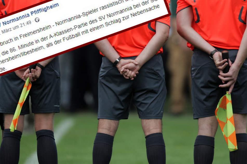 Spielabbruch wegen Rassismus! Deutsches Amateur-Spiel früher beendet