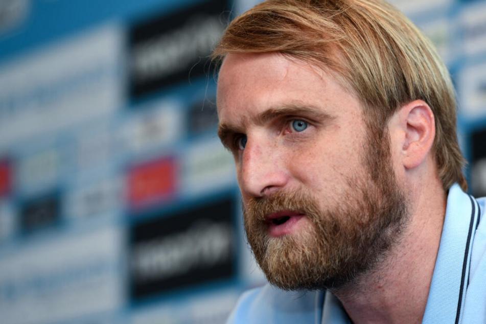 Übungsleiter Daniel Bierofka trainiert seit dem Jahr 2017 den TSV 1860 München.