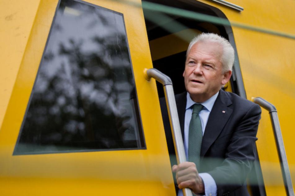 Rüdiger Grube (66) muss einiges an Kritik für seine Millionen-Zahlung einstecken.
