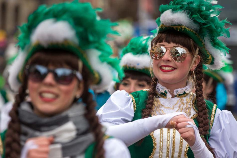 Ganz im Zeichen des Karneval: Das geht am Sonntag in Thüringen