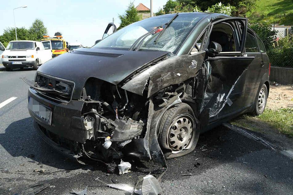 Am Montag kam es auf der Bundesstraße 6 zu einem Verkehrsunfall.