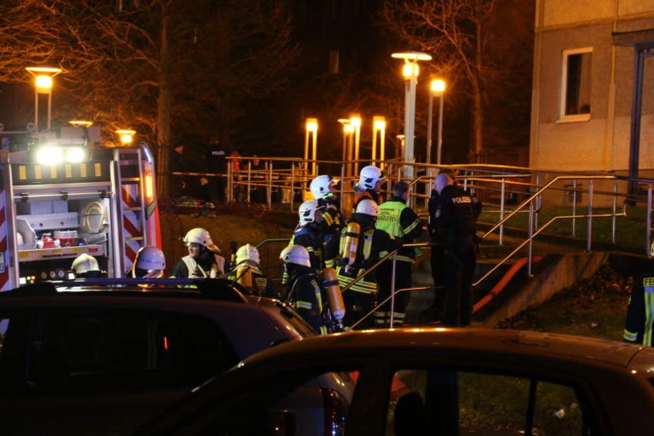 Polizei und Feuerwehr mussten am Abend in Gotha ausrücken.