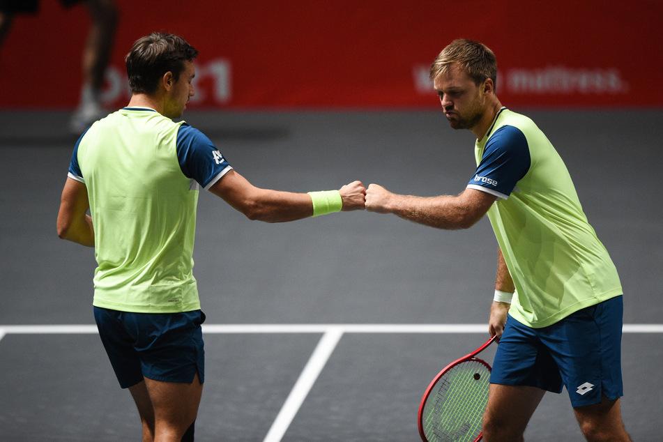 ATP-Tennis in Köln: Krawietz/Mies siegen und vermissen Zuschauer