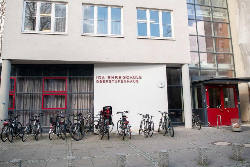 Das Oberstufenhaus der Ida Ehre Schule, die im Stadtteil Hoheluft-Ost steht.