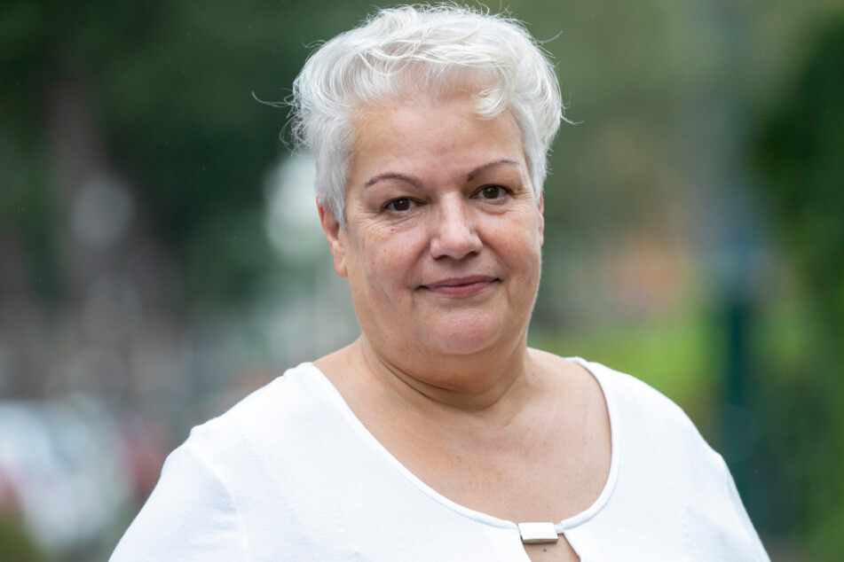 Heidi Geiler (64) kämpft fürs Sachsenbad.