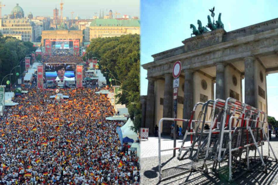 Deutschlands größtes Public Viewing rüstet sich für Fan-Ansturm