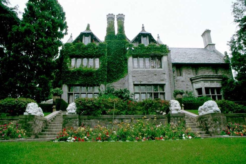 1971 für eine Million Dollar gekauft, 2016 mit einem satten Gewinn weitergegeben: Hugh Hefners (90) Playboy-Mansion.