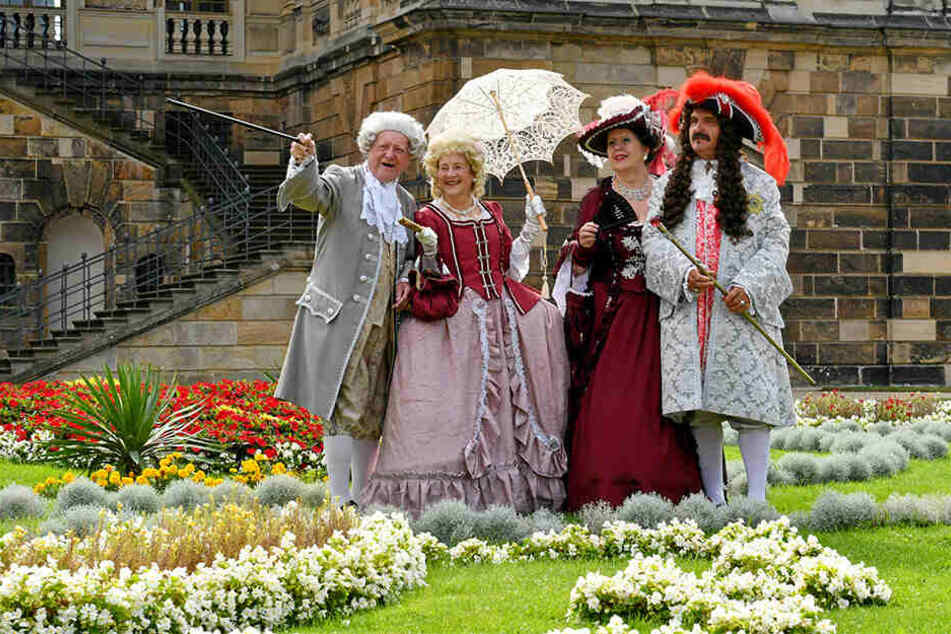 Dresden: Neue August-Ausstellung im Großen Garten: Kaiserschmarrn zum Venusfest