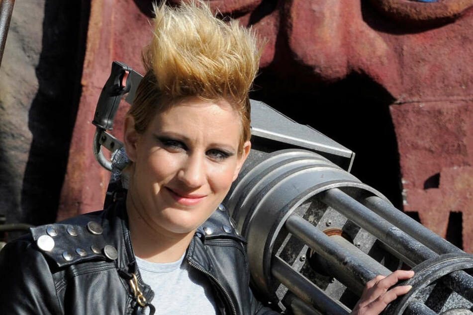 Ann-Katrin Berger bei einem Show-Event in Potsdam (Archivbild)