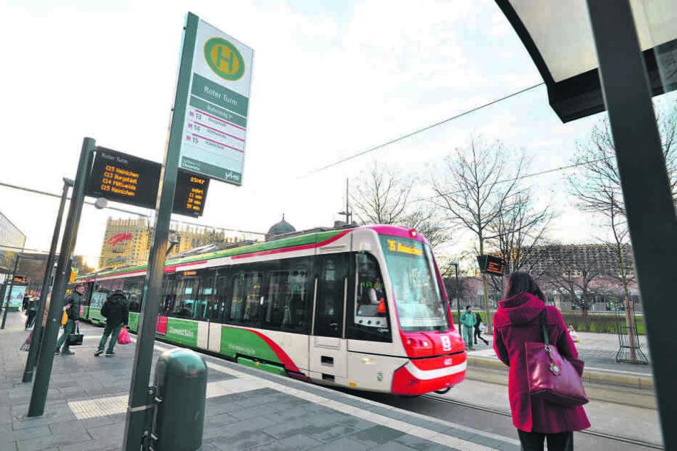 Bis ins Zentrum wird die neue City-Bahn von Limbach-Oberfrohna führen.
