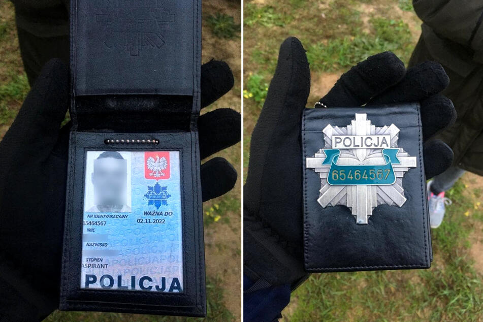 "In Poland, a man forged his police ID and bought his ""badge"" on the Internet."