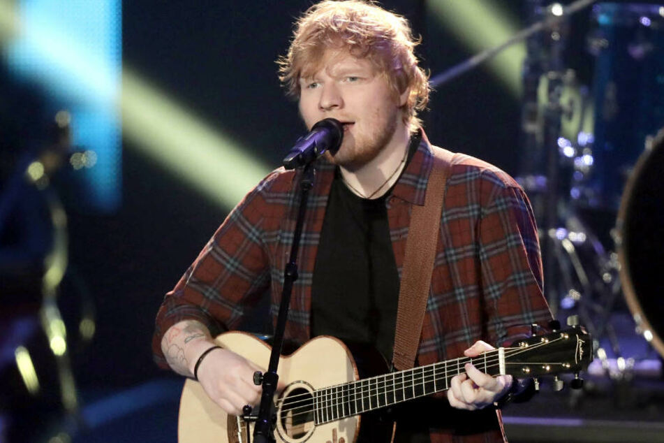 Ed Sheeran spielt am Mittwoch auf der Bahrenfelder Trabrennbahn.