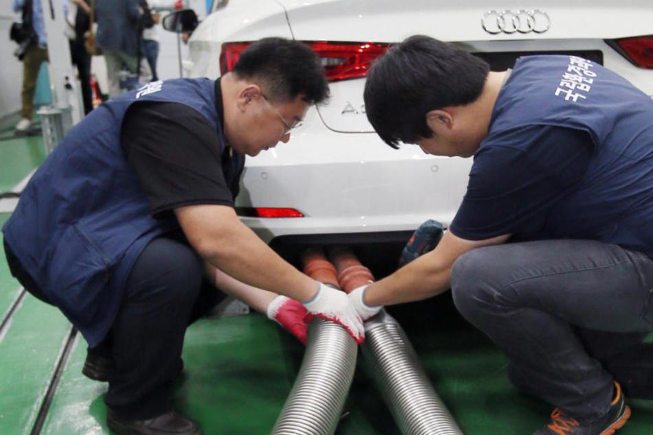 Abgasskandal: Jetzt auch Audi in Südkorea im Visier der Justiz