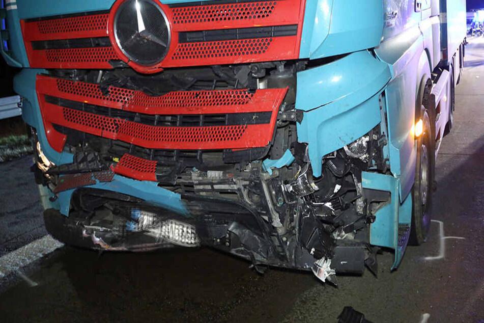 Ob und wann im Sattelschlepper der Bremsassistent reagierte, muss nun der Gutachter klären.