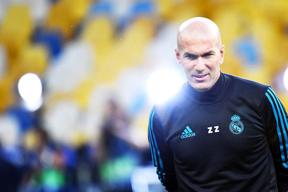 Zinedine Zidanes Rückkehr auf die Trainerbank ist laut spanischen Medien bereits beschlossene Sache.