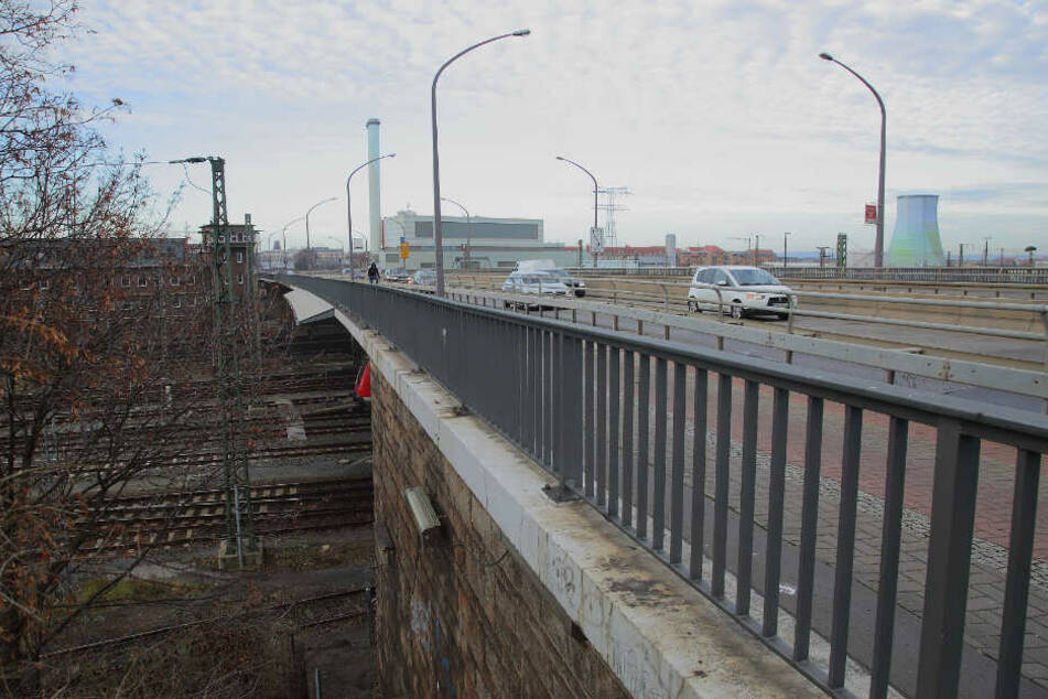 Bis die erste Stadtbahn über die Nossener Brücke rollt, werden noch Jahre vergehen.