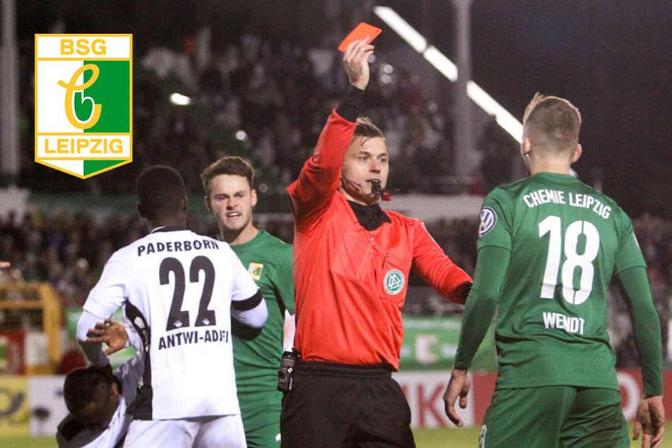 DFB sperrt Chemie Leipzigs Wendt mehrere Spiele