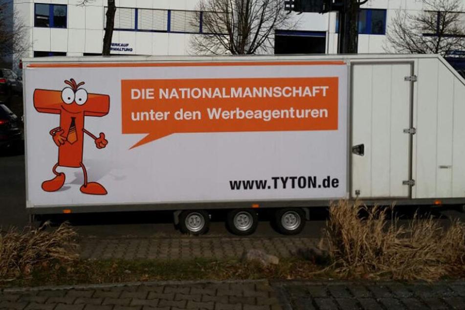 Dieser Anhänger wurde in der Chemnitztalstraße gestohlen.