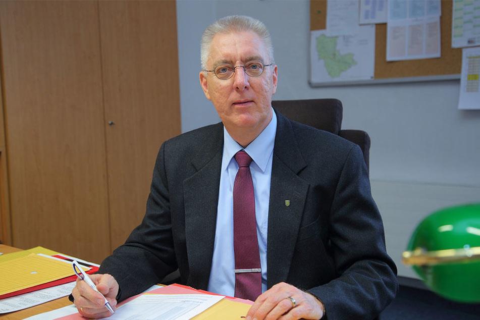 Kriminaldirektor Volker Lange (57) übernimmt jetzt die Leitung der Dresdner Kripo.