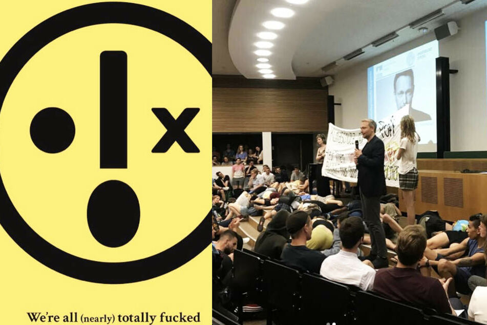 Nach Protestaktion in Lindner-Vortrag: Warum die Umweltaktivisten nicht diskutieren wollten