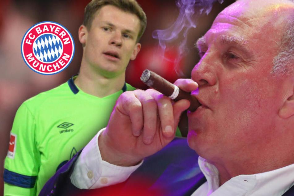 Alexander Nübel zum FC Bayern? Uli Hoeneß grinst und reagiert so richtig arrogant