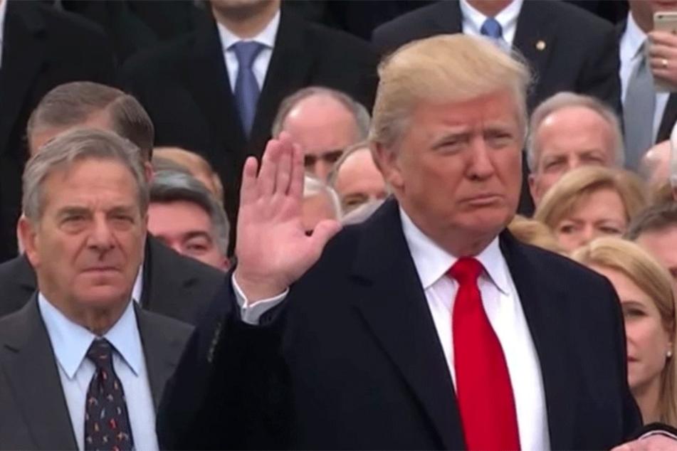 Der Amtseid: Donald Trump ist der 45. US-Präsident