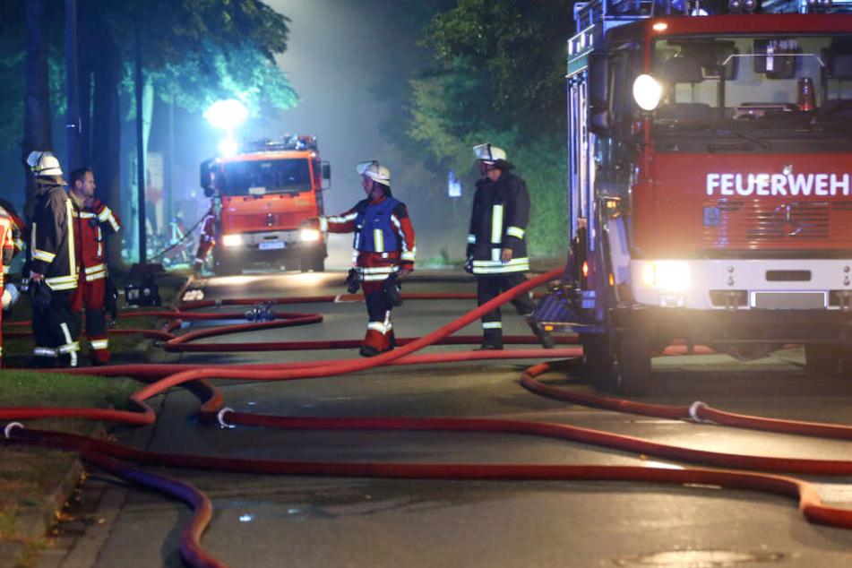 Feuerwehr findet Leiche. (Symbolbild)