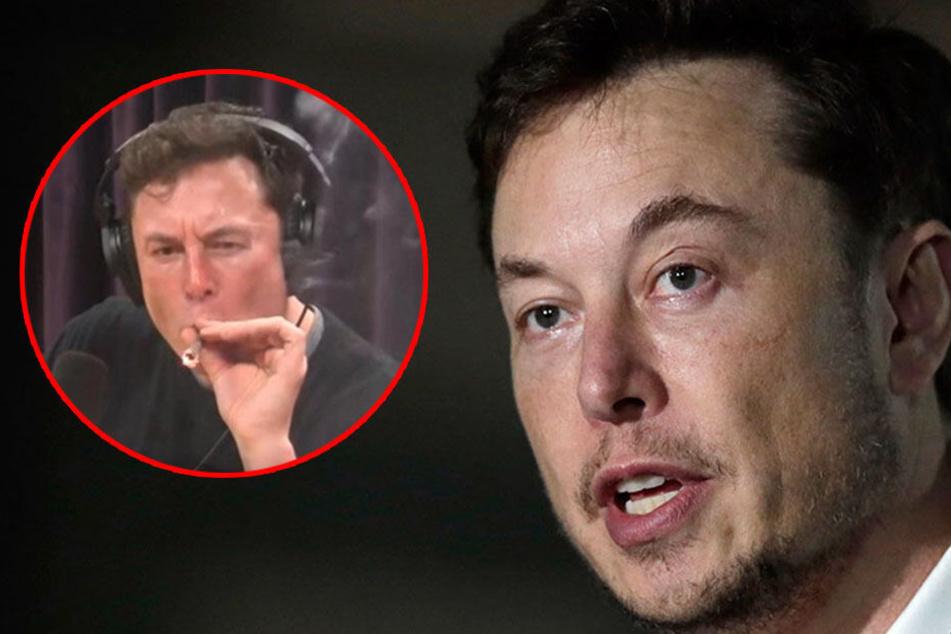 Vor laufender Kamera an Joint gezogen: Was droht dem Chef von Tesla?