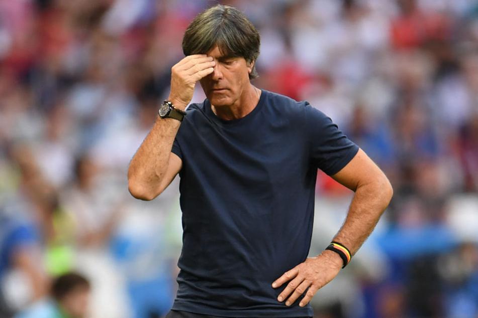 Joachim Löw will mit dem DFB-Team das Jahr 2018 hinter sich lassen. (Archivbild)