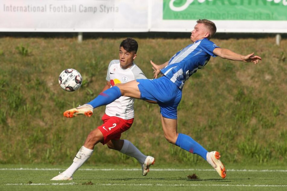 Hertha hat sich im Testspiel gegen den FC Liefering ein klares 4:1 gesichert.