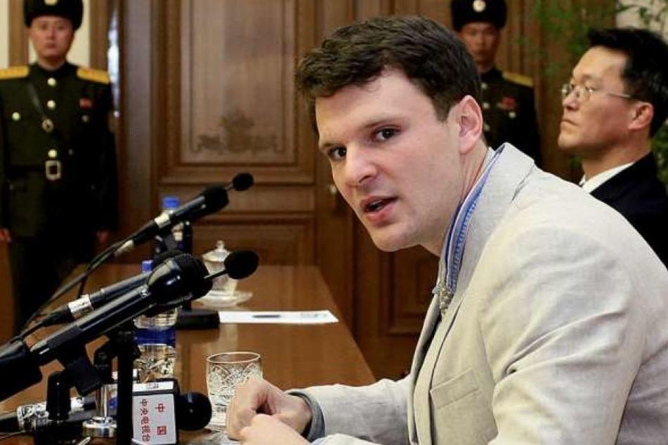 Der US-Student Otto Warmbier starb nach seiner Rückkehr aus der Nordkorea-Haft.
