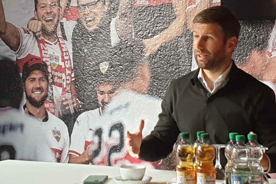 Thomas Hitzlsperger ist seit 100 Tagen Vorstandsvorsitzender des VfB Stuttgart.