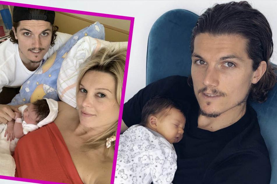 Endlich: RB-Star Marcel Sabitzer und seine Katja holen Mary Lou nach Hause