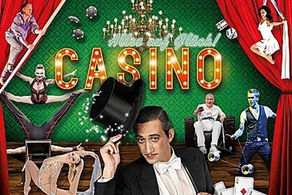 """""""Casino – Alles auf Glück"""" heißt das neue Programm im Bochumer Varieté Et Cetera."""