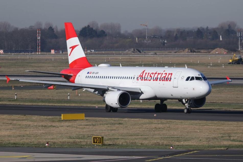 Eine Maschine der Austrian Airlines wurde in Tirana von maskierte Räubern überfallen.